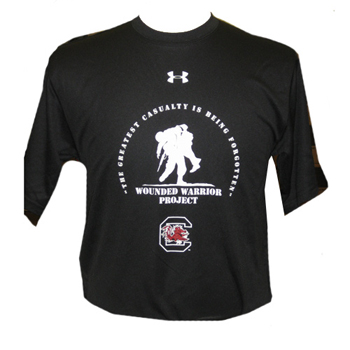 wounded warrior project t shirt Wounded warrior project has helped over 100,000 veterans with proven life-changing programs soldier ride is one of the best programs i have ever done with wounded warrior project it was a challenge for me the first time, but i made it.